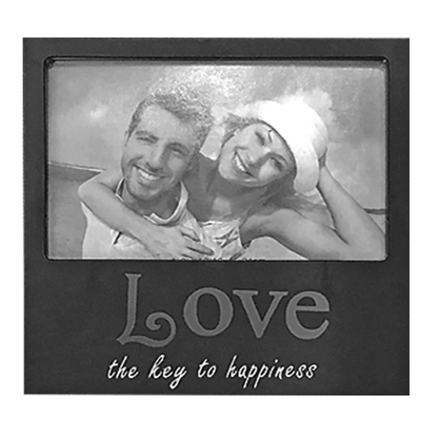 ΚΟΡΝΙΖΑ ΜΑΥΡΗ LOVE 10x15cm