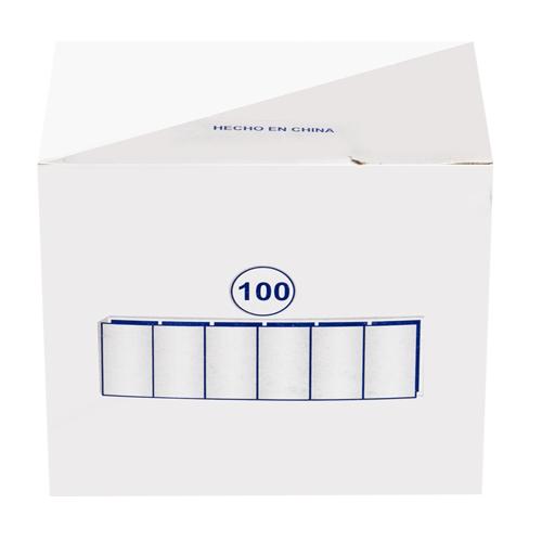 ΚΙΜΩΛΙΑ ΛΕΥΚΗ ΠΛΑΣΤΙΚΗ ΠΑΚ=100Τ