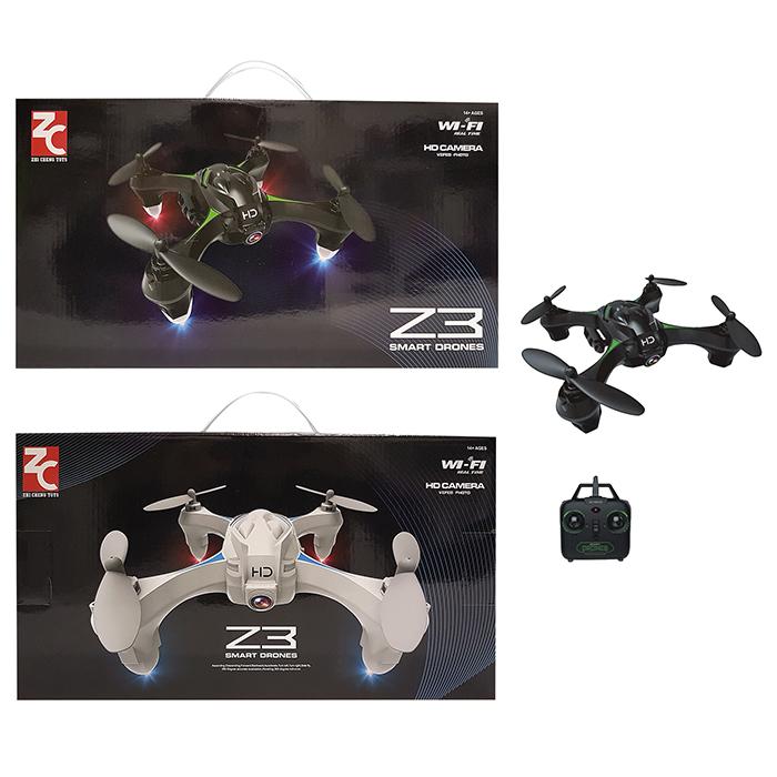 DRONE 15x15x4cm ΜΕ ΚΑΜΕΡΑ 300.000 PIXELS 42x22cm (κουτι)