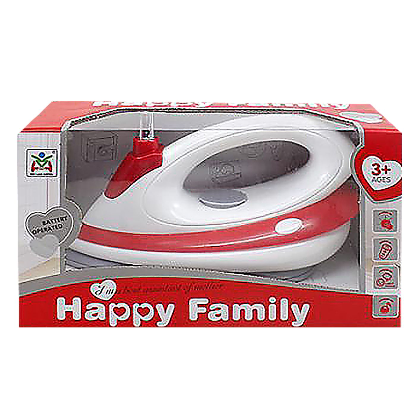 ΣΙΔΕΡΑΚΙ ΜΠΑΤΑΡΙΑΣ HAPPY FAMILY 25x14x11cm