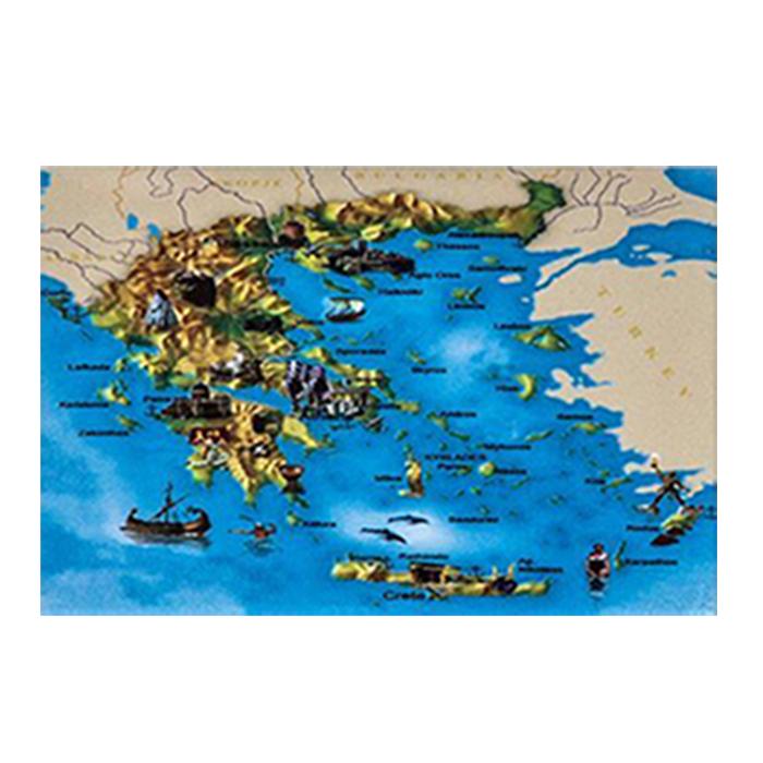 ΜΑΓΝΗΤΑΚΙ ΧΑΡΤΗΣ GREECE 8x5,8cm