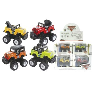 DIE CAST FRICTION OFF ROAD ΤΖΙΠΑΚΙ 8,5cm 12cm